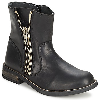 Παπούτσια Κορίτσι Μπότες Little Mary ROCKNROL Black