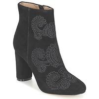 Παπούτσια Γυναίκα Μποτίνια Bocage ELLIOT Black
