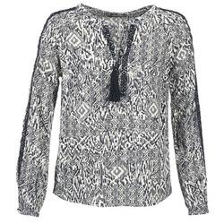 Υφασμάτινα Γυναίκα Μπλούζες Vila VIETNO Grey / άσπρο