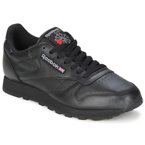 Παπούτσια Χαμηλά Sneakers Reebok Classic CL LTHR Black