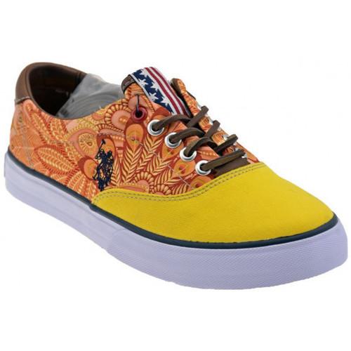 Παπούτσια Γυναίκα Χαμηλά Sneakers U.S Polo Assn.  Yellow