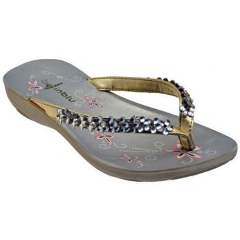 Παπούτσια Γυναίκα Σαγιονάρες Inblu  Gold