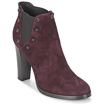 Παπούτσια Γυναίκα Μποτίνια Alberto Gozzi CAMOSCIO NEIVE Bordeaux