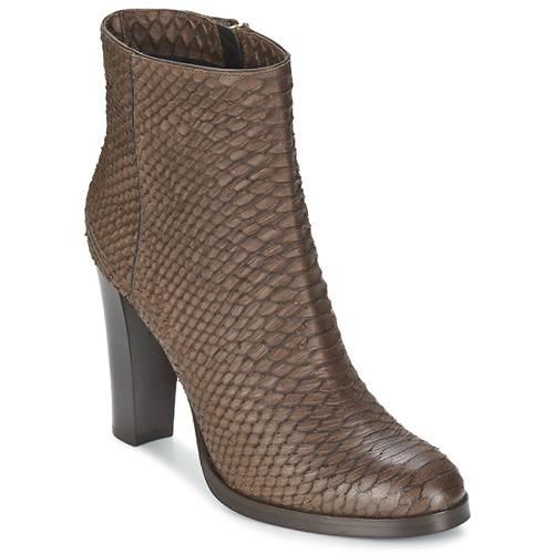 Παπούτσια Γυναίκα Μποτίνια Alberto Gozzi MADRID T MORO Brown