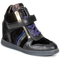 Παπούτσια Γυναίκα Ψηλά Sneakers Serafini LEXINGTON Black