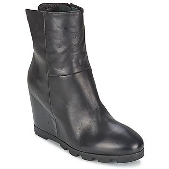 Παπούτσια Γυναίκα Μποτίνια OXS IGLOO Black