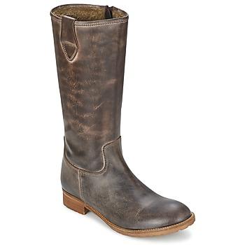 Παπούτσια Γυναίκα Μπότες για την πόλη Hip GUELINE Brown