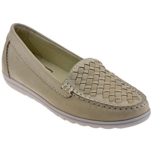 Παπούτσια Γυναίκα Μοκασσίνια Keys  Beige