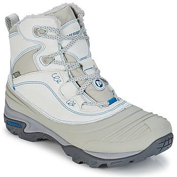 Παπούτσια Γυναίκα Πεζοπορίας Merrell SNOWBOUND MID WTPF Grey