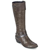 Παπούτσια Γυναίκα Μπότες για την πόλη Dorking NINA Grey