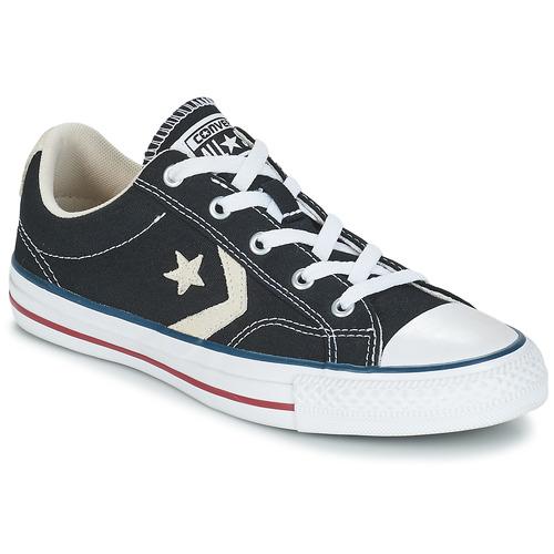 Παπούτσια Άνδρας Χαμηλά Sneakers Converse STAR PLAYER OX Black