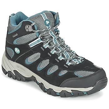 Παπούτσια Γυναίκα Πεζοπορίας Merrell RIDGEPASS MID GTX Grey