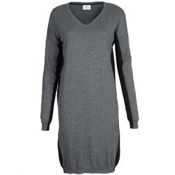 Υφασμάτινα Γυναίκα Κοντά Φορέματα Chipie MONNA Grey / Black