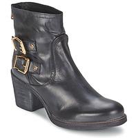 Παπούτσια Γυναίκα Μποτίνια Meline LODU Black