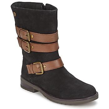 Παπούτσια Κορίτσι Μπότες για την πόλη Gioseppo HALIFAX Black