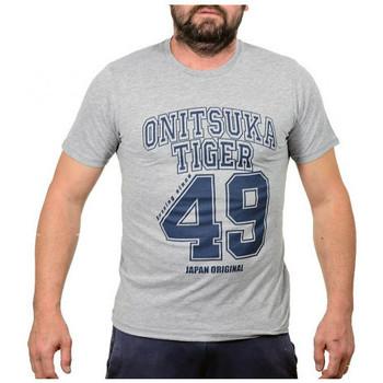 Υφασμάτινα Άνδρας T-shirt με κοντά μανίκια Onitsuka Tiger  Grey