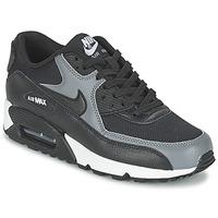 Παπούτσια Γυναίκα Χαμηλά Sneakers Nike AIR MAX 90 W Black / Grey