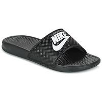 Παπούτσια Γυναίκα σαγιονάρες Nike BENASSI JUST DO IT W Black / Άσπρο