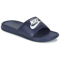 Παπούτσια Άνδρας Τσόκαρα Nike BENASSI JDI μπλέ / άσπρο
