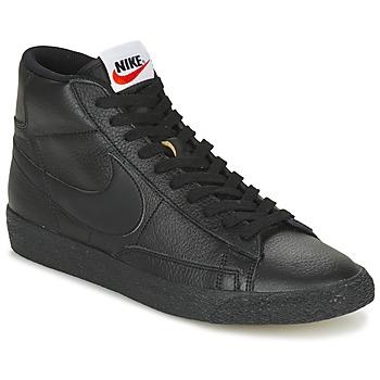Παπούτσια Άνδρας Ψηλά Sneakers Nike BLAZER MID Black