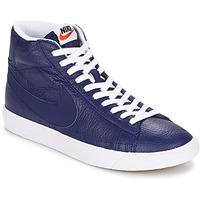 Παπούτσια Άνδρας Ψηλά Sneakers Nike BLAZER MID μπλέ