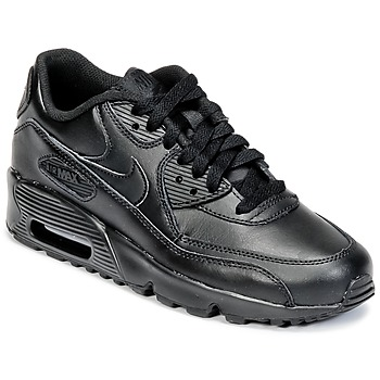 Παπούτσια Παιδί Χαμηλά Sneakers Nike AIR MAX 90 LEATHER GRADE SCHOOL Black