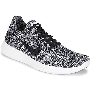 Παπούτσια Γυναίκα Τρέξιμο Nike FREE RUN FLYKNIT W άσπρο / Black