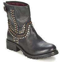 Παπούτσια Γυναίκα Μπότες Ikks SEATTLE-PREMIUM Black