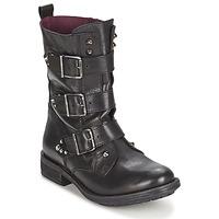 Παπούτσια Γυναίκα Μπότες Ikks RANGER-COLLECTOR-BOUCLE Black