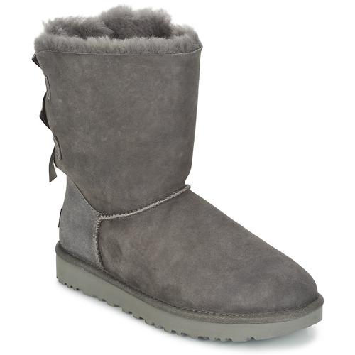 Παπούτσια Γυναίκα Μπότες UGG BAILEY BOW II Grey