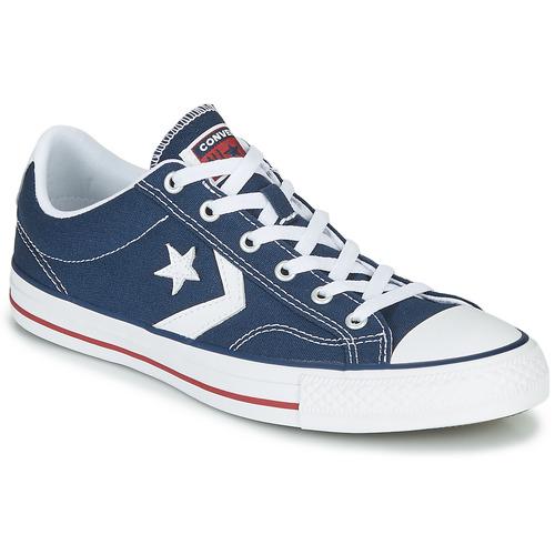 Παπούτσια Χαμηλά Sneakers Converse STAR PLAYER CORE CANVAS OX MARINE / άσπρο