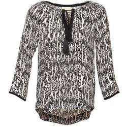 Υφασμάτινα Γυναίκα Μπλούζες Stella Forest BTU010 ECRU / Black