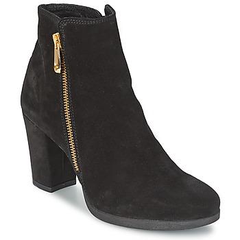 Παπούτσια Γυναίκα Μποτίνια Café Noir TAIBI Black