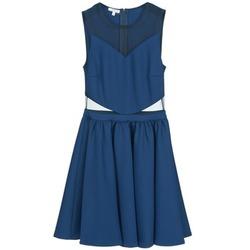 Υφασμάτινα Γυναίκα Κοντά Φορέματα Brigitte Bardot BB45080 Μπλέ