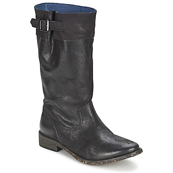 Παπούτσια Γυναίκα Μπότες για την πόλη Schmoove SANDINISTA BOOTS Black / Μεταλικό