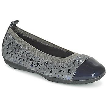 Παπούτσια Κορίτσι Μπαλαρίνες Geox JR PIUMA BALLERINE Grey / Fonce