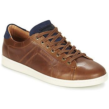 Παπούτσια Άνδρας Χαμηλά Sneakers Redskins ORMIL Cognac / Marine