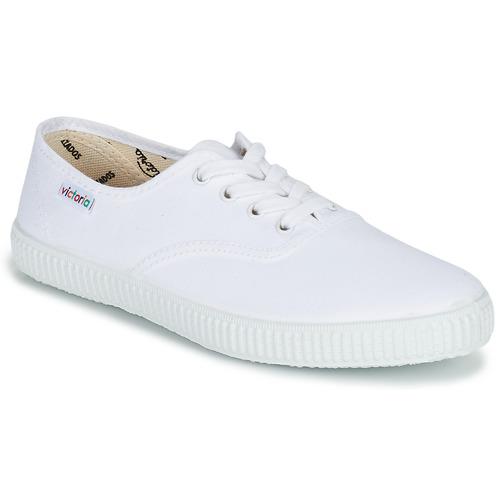 Παπούτσια Χαμηλά Sneakers Victoria INGLESA LONA Άσπρο