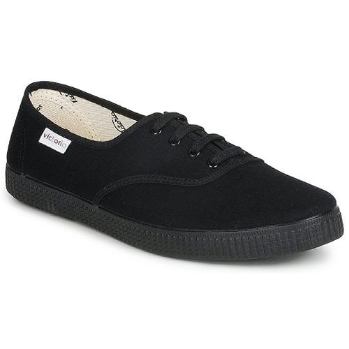 Παπούτσια Χαμηλά Sneakers Victoria INGLESA LONA PISO Black