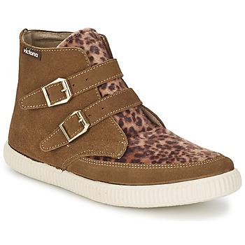 Παπούτσια Γυναίκα Ψηλά Sneakers Victoria 16706 Brown