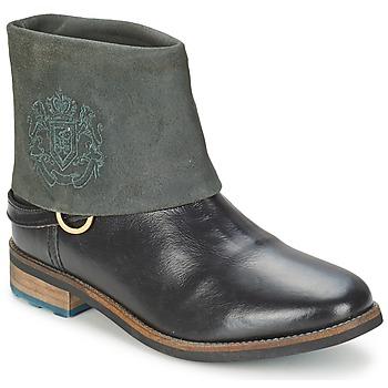 Παπούτσια Γυναίκα Μπότες Gaastra BONEFISH Black