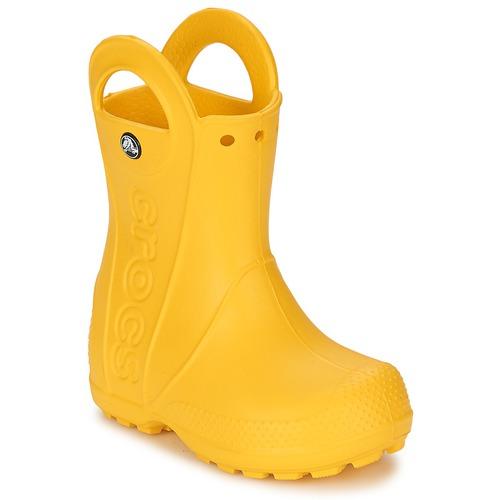 Παπούτσια Παιδί Μπότες βροχής Crocs HANDLE IT RAIN BOOT KIDS Yellow