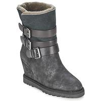 Παπούτσια Γυναίκα Μποτίνια Ash YES Black