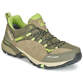 Παπούτσια Άνδρας Πεζοπορίας Tecnica T-CROSS LOW GORETEX TAUPE / Green