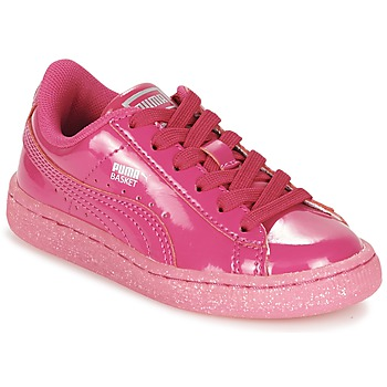 Xαμηλά Sneakers Puma BASKET PATENT ICED GLITTER PS