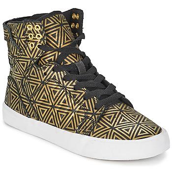Παπούτσια Γυναίκα Ψηλά Sneakers Supra SKYTOP Dore / Black