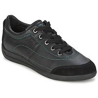 Παπούτσια Γυναίκα Χαμηλά Sneakers Geox MYRIA Black