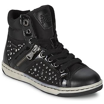 Παπούτσια Κορίτσι Ψηλά Sneakers Geox CREAMY C Black