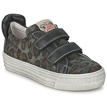 Παπούτσια Παιδί Χαμηλά Sneakers Diesel JERMAN Grey / Leopard