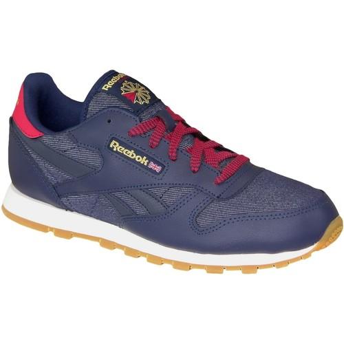 Παπούτσια Γυναίκα Sneakers Reebok Sport Classic Leather DG Bleu marine